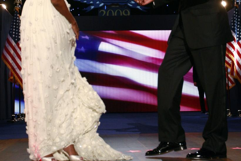 Michelle Obama Jason Wu Inauguration dress