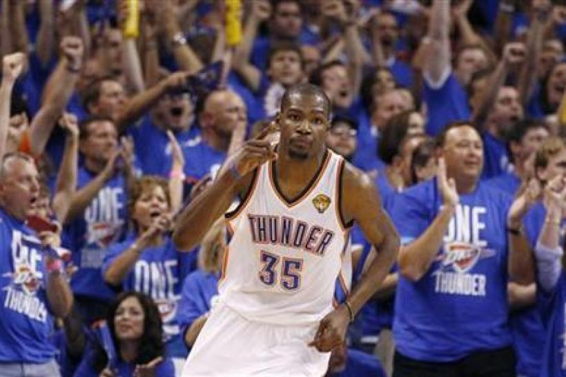 Thunder superstar Kevin Durant seeks his fourth straight scoring title this season. to Watch Online, Preview, Prediction