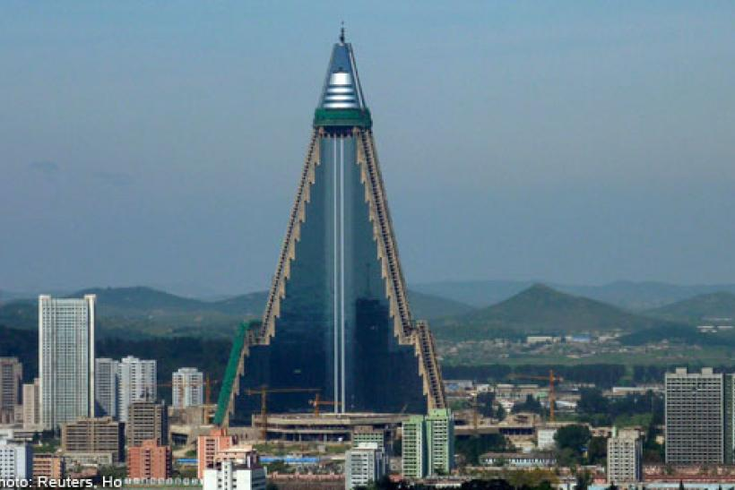 North Korea Ryugyong Hotel