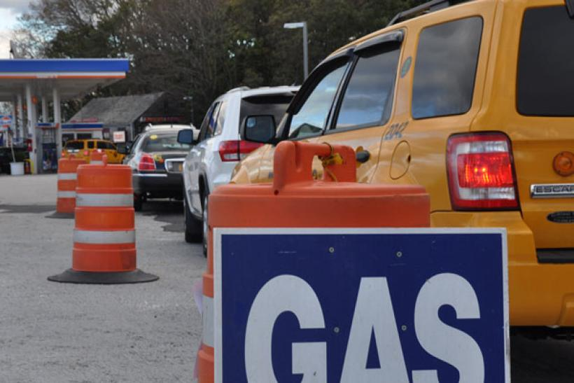 Hurricane Sandy: Gas Shortage Slideshow