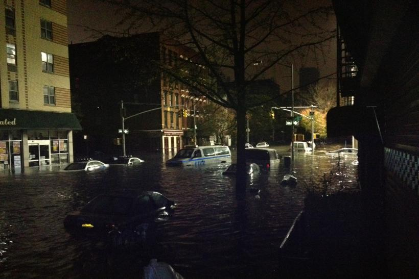 Avenue C Sandy Flooding After Power Outage