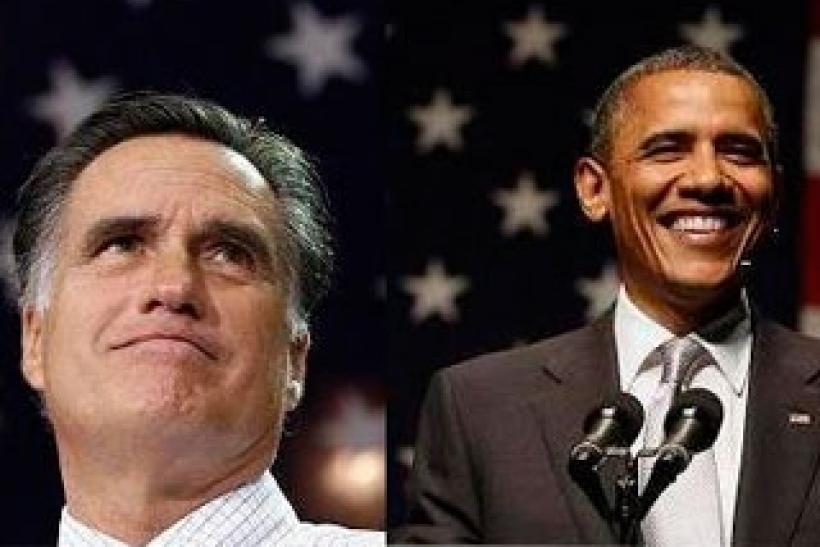 Obama Romney Angelo