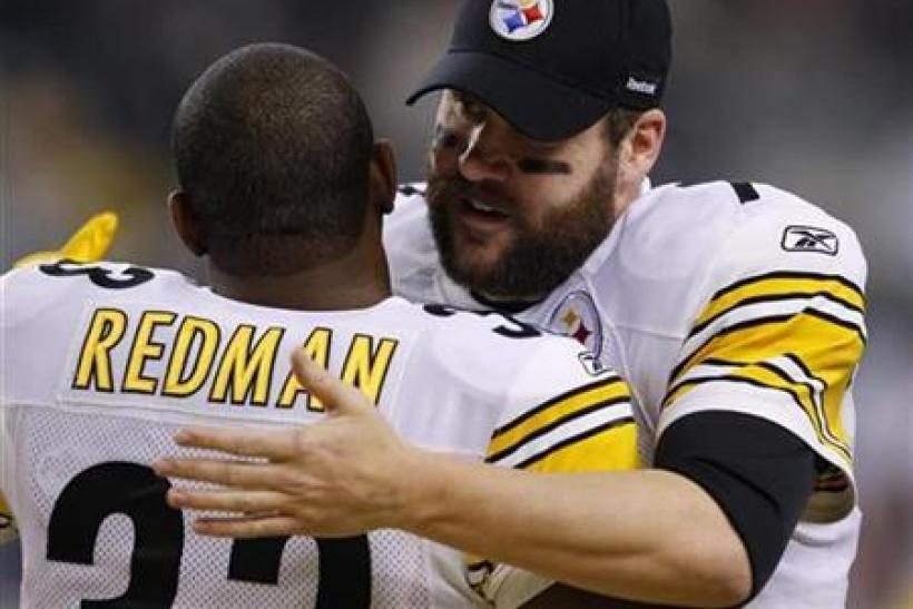 The Steelers are the biggest favorites in Week 10.