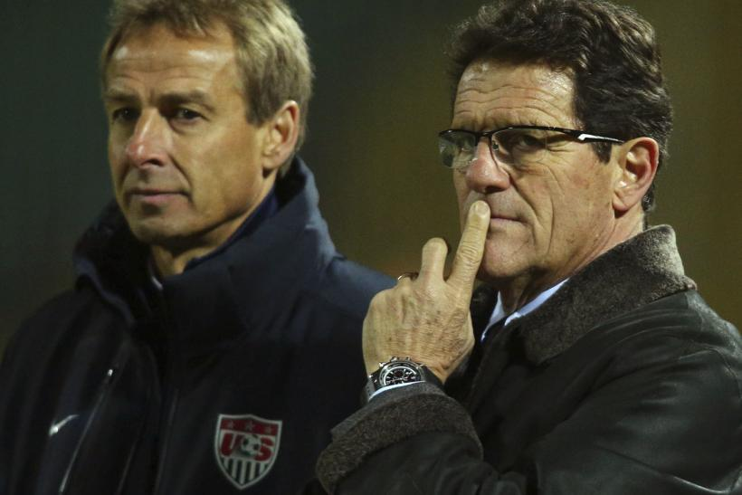 Jurgen Klinsmann and Fabio Capello