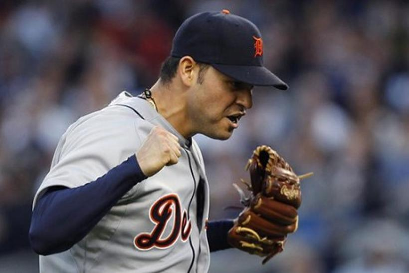 Anibal Sanchez shut the Yankees out in Game Two of the ALCS.