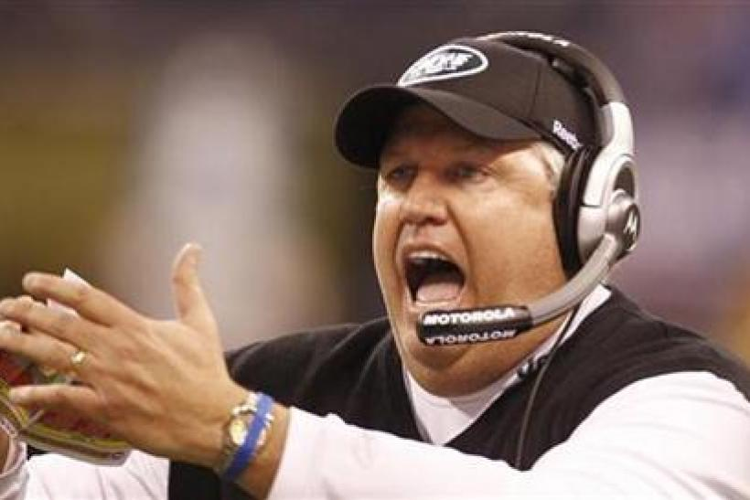 Rex Ryan and the Jets missed the playoffs for a second straight year.