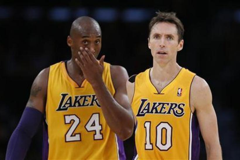Kobe Bryant and Steve Nash are both playing in their 17th NBA season.