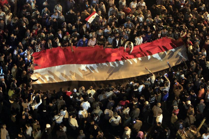 Protesters fill Cairo's Tahrir Square to demonstrate against President Mursi
