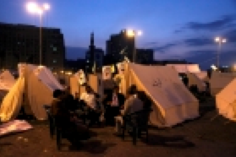 Tahrir Square camp