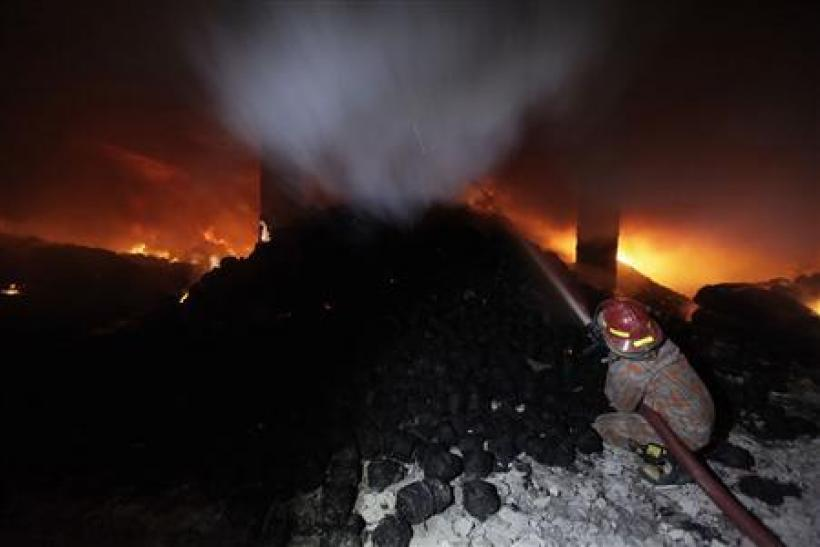 New Fire Breaks Out In Bangladesh Garment Factory