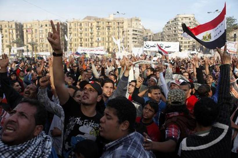 Egyptian Protesters Injured As Molotov Cocktails, Tear Gas