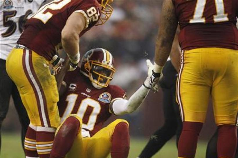 Robert Griffin III Injury Update: RG3 Says He Feels 'Really Good', Will He Play Against Cleveland Browns Sunday?