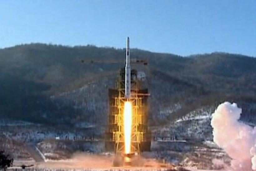 North Korean Rocket Launch