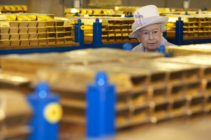 Queen Elizabeth II Visited the Gold Vault Inside the Bank of England Thursday
