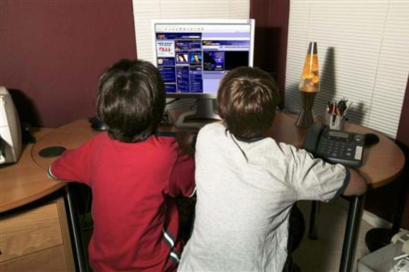 Kids Surfing the Internet