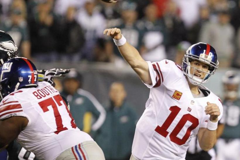The Giants will make the playoffs if they win out.