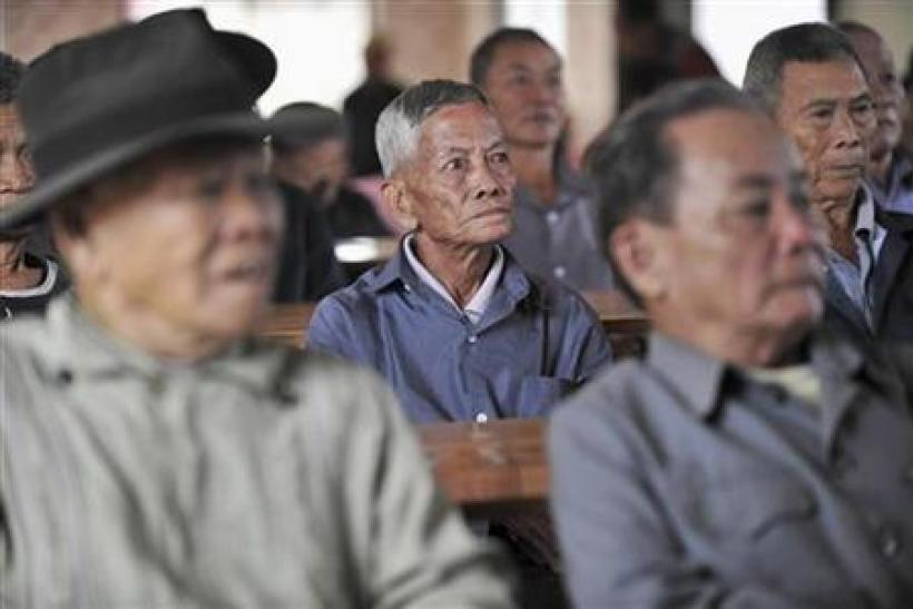 China's elderly