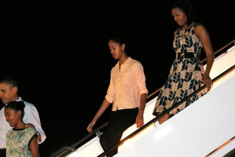 Michelle Obama's Travel Threads