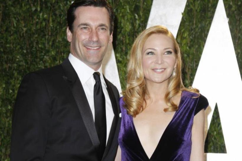 Jon Hamm and Jennifer Westfeild