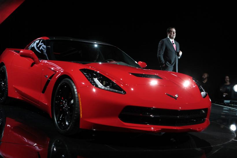 Chevrolet 2014 Corvette Makes Debut Jan. 13, 2013