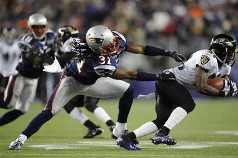 The Ravens and Patriots will meet for the second straight year in the AFC Championship Game.