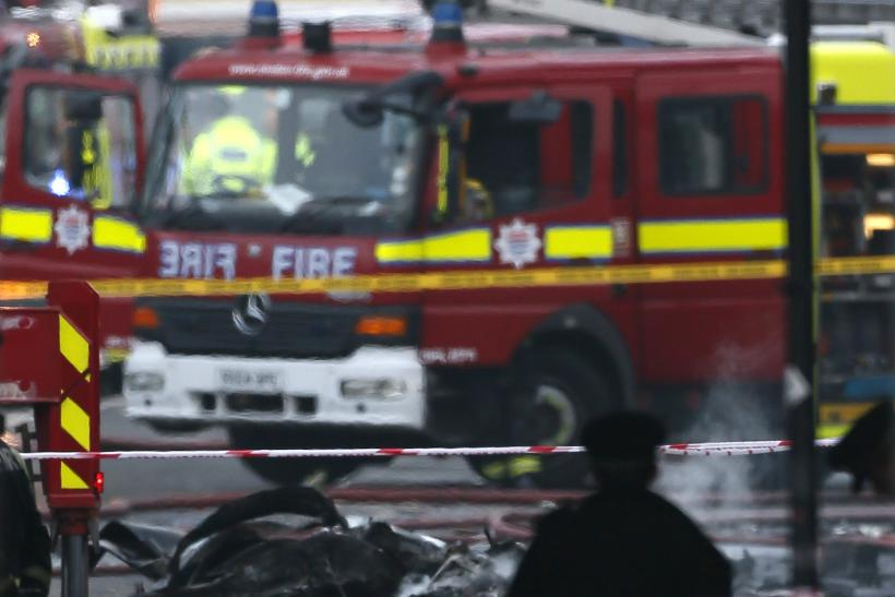 Helicopter Crash in London kills two