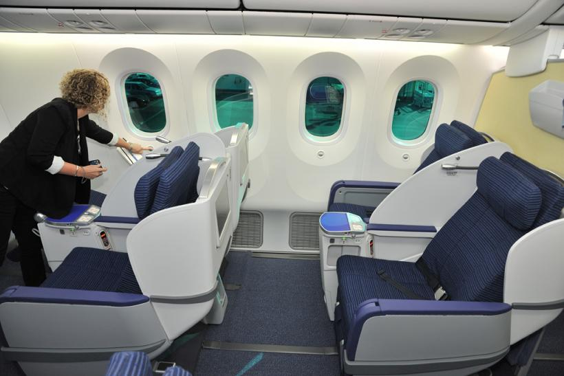 Inside The All Nippon Airways Boeing 787