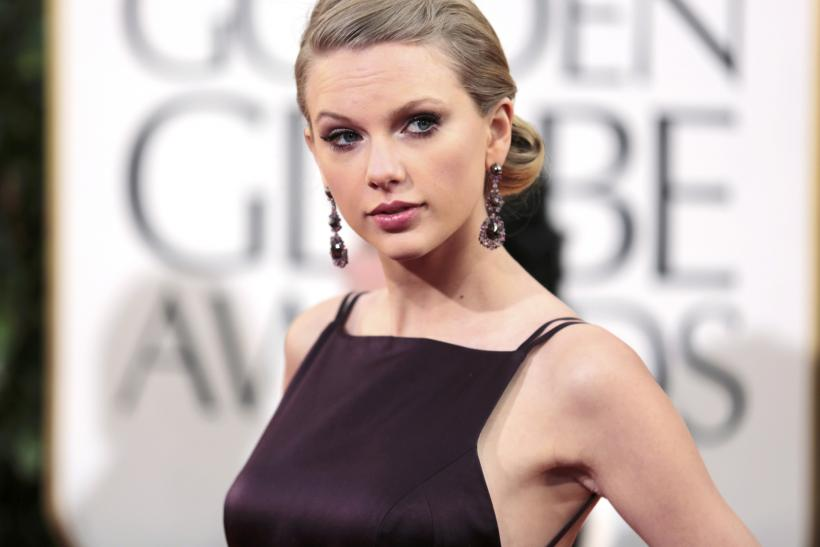 Taylor Swift-Golden Globe Awards Show-Jan. 13, 2013