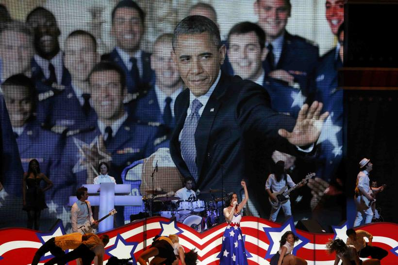 Katy Perry And Barack Obama-Kids Inaugural Concert-Jan. 19, 2013