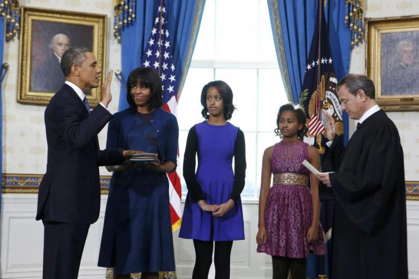 President Obama and his family