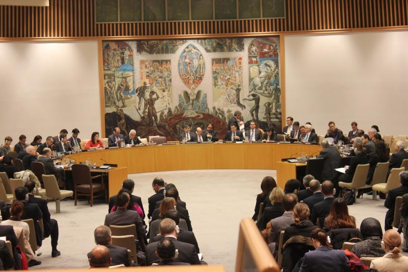 UN Security Council Chamber