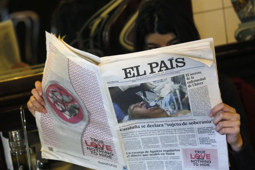 El Pais Fake Hugo Chavez Photo
