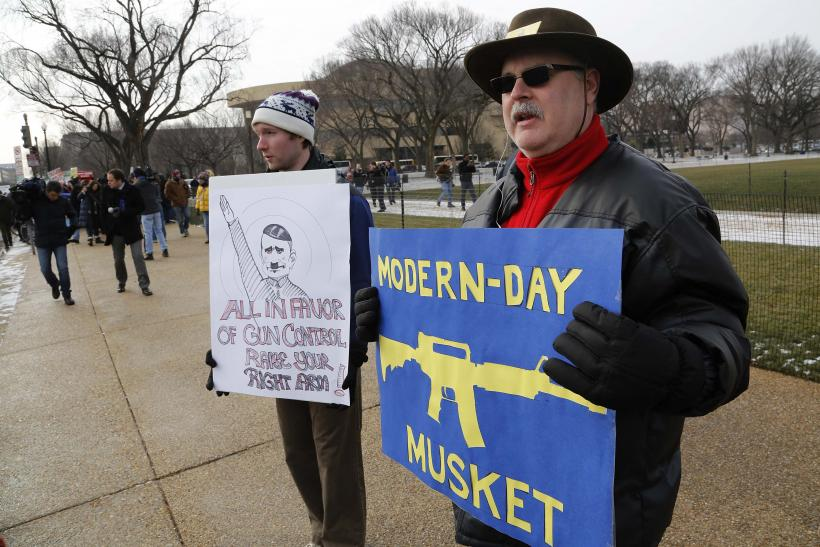 Thousands March Against Gun Violence In Washington (Photos)