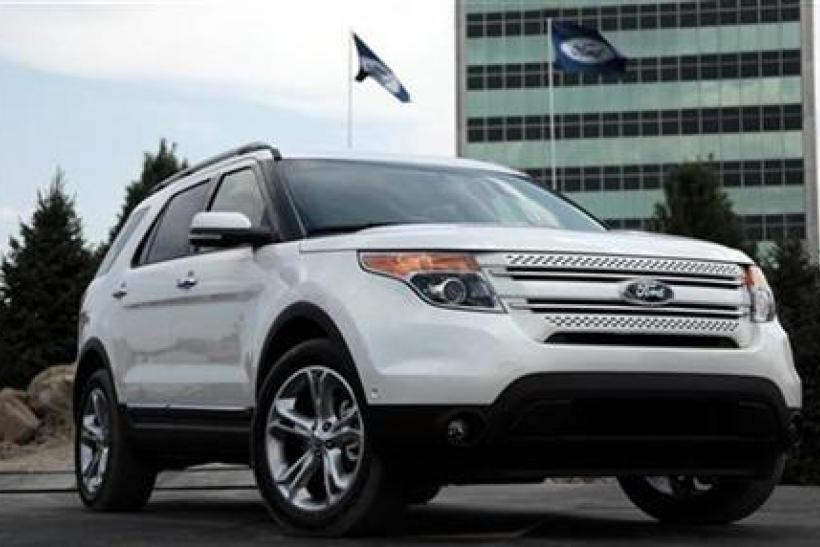 Ford Explorer Reuters