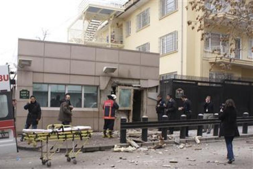US Embassy bombing in Ankara Turkey