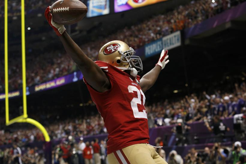Super Bowl XLVII-Feb. 3, 2013-San Francisco 49ers-Frank Gore