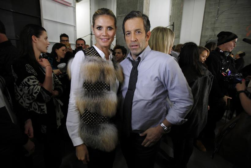 Heidi Klum and Kenneth Cole