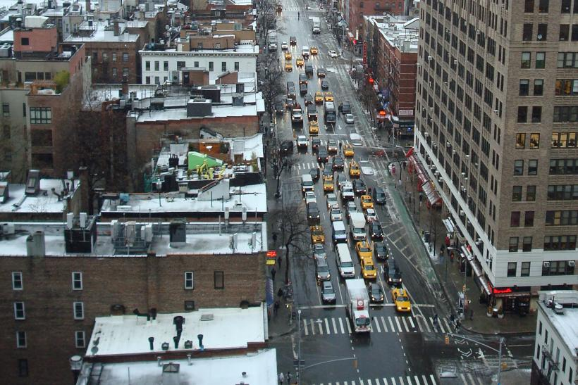 New York-Hell's Kitchen-Preblizzard-Feb. 8, 2013