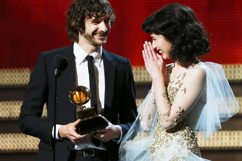 Grammy Awards-Record of the Year-Feb. 10, 2013