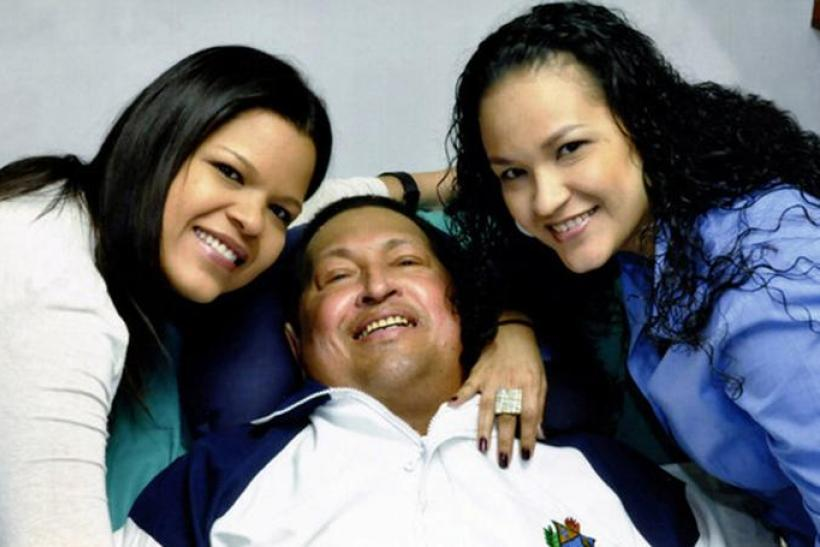 Hugo Chavez daughters