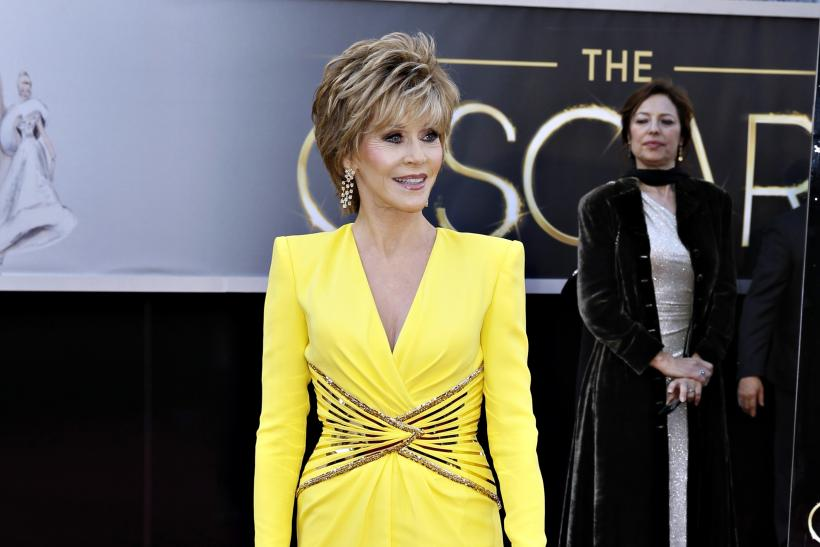 Jane Fonda in Versace