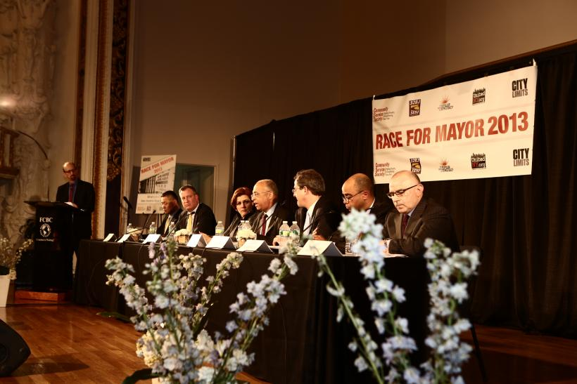 New York City Mayoral Candidates' Forum
