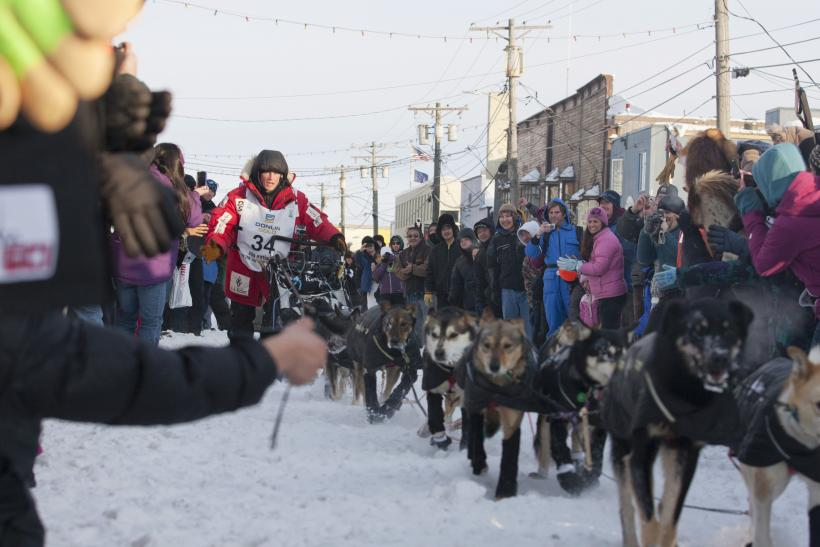 The 2012 Iditarod winnder, Dallas Seavey