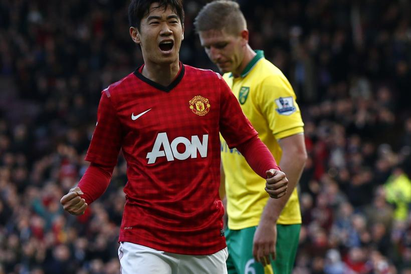 ece8cea2d VIDEO Manchester United 4-0 Norwich  Highlights  Kagawa Hat-Trick Fires  United To Victory