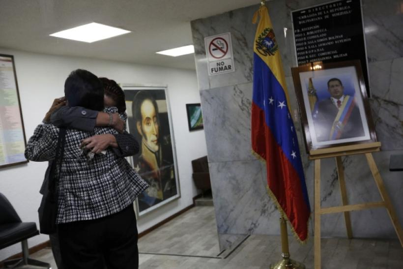 Venezuelans in Mexico react to Chavez's death