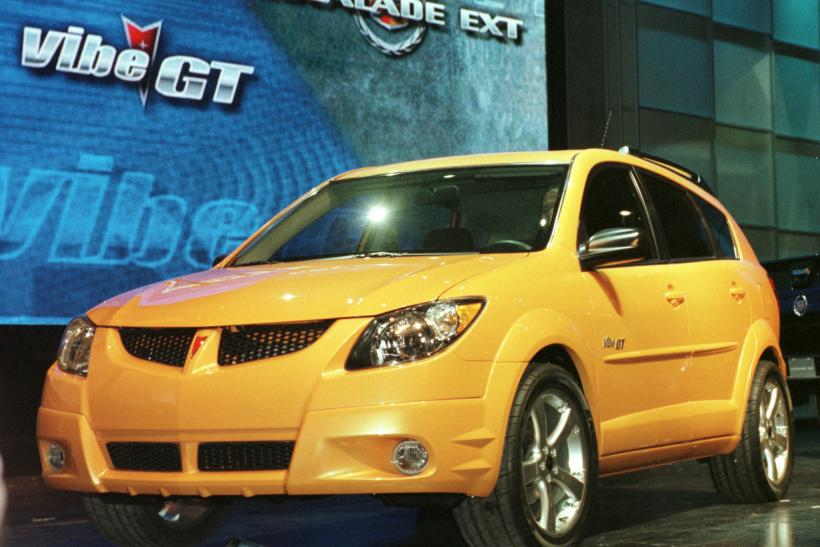 Less than $10,000 -- Small cars -- 2009 Pontiac Vibe