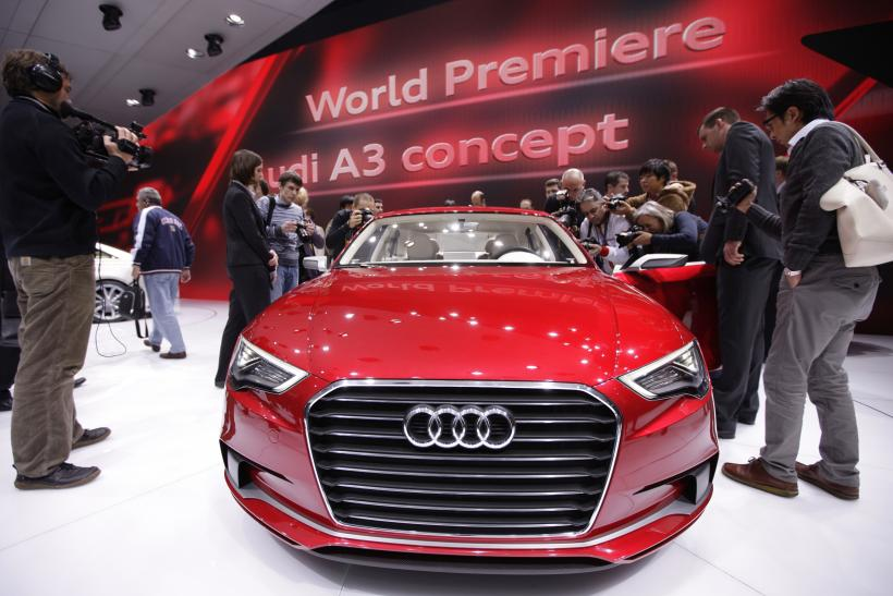 Audi Looks To Top Bmw And Mercedes In 2013 With A3 Sedan Photo