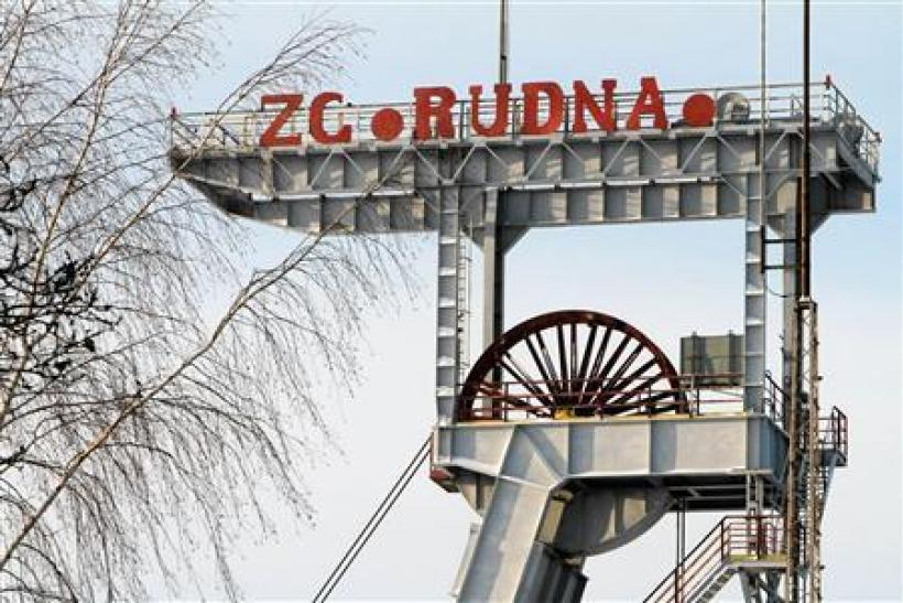Rudna mine in Poland