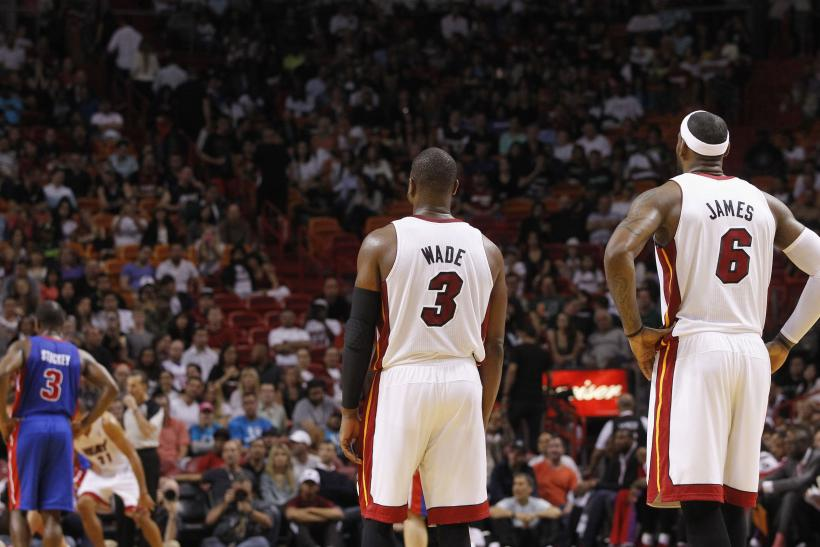 Dwyane Wade LeBron James Miami Heat