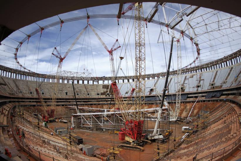 Brazil World Cup Stadium Construction